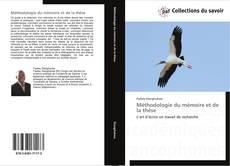 Buchcover von Méthodologie du mémoire et de la thèse