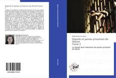 Dignité et peines privatives de liberté  Tome 2的封面