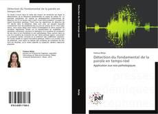 Détection du fondamental de la parole en temps-réel kitap kapağı