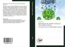 Restitution de profils verticaux d'humidité relative kitap kapağı