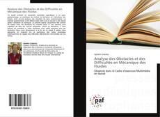 Analyse des Obstacles et des Difficultés en Mécanique des Fluides kitap kapağı