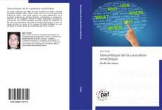 Bookcover of Sémantique de la causation analytique