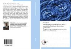 Etude physico-chimique de la copolymérisation de résine polyester kitap kapağı