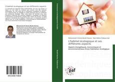 Bookcover of L'habitat écologique et ses différents aspects