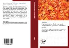 Bookcover of Transcriptome de la vigne et recherche de gènes de tolérance au sel