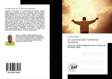 La question de l'existence humaine的封面