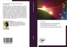 Copertina di Développement Formel des Systèmes Automatisés