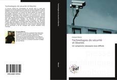 Bookcover of Technologies de sécurité   et libertés