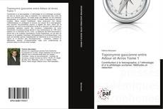 Buchcover von Toponymie gasconne entre Adour et Arros Tome 1