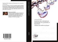Portada del libro de Gestion des ressources humaines en contexte e-business