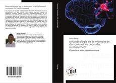 Buchcover von Neurobiologie de la mémoire et du sommeil au cours du vieillissement