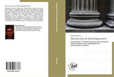 Couverture de Démocratie et Développement