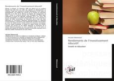 Copertina di Rendements de l'investissement éducatif