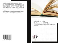 Bookcover of Support de Cours Environnement ORACLE