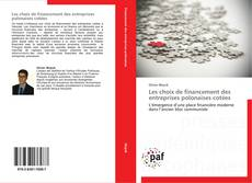 Portada del libro de Les choix de financement des entreprises polonaises cotées