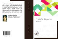 Bookcover of Le signifiant espagnol /ke/