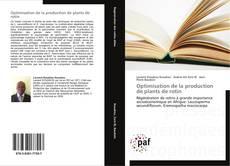 Bookcover of Optimisation de la production de plants de rotin