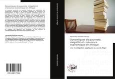 Portada del libro de Dynamiques de pauvreté, inégalité et croissance économique en Afrique