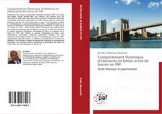 Bookcover of Comportement thermique d'éléments en béton armé de barres en PRF