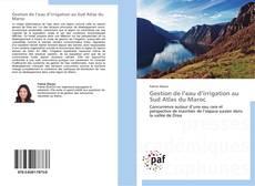 Portada del libro de Gestion de l'eau d'irrigation au Sud Atlas du Maroc