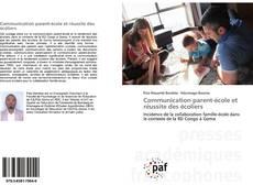 Обложка Communication parent-école et réussite des écoliers