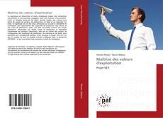 Capa do livro de Maîtrise des valeurs d'exploitation