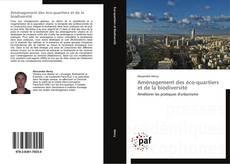Bookcover of Aménagement des éco-quartiers et de la biodiversité