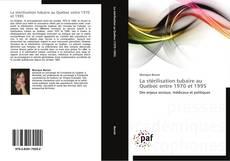 Capa do livro de La stérilisation tubaire au Québec entre 1970 et 1995