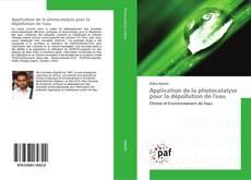 Buchcover von Application de la photocatalyse pour la dépollution de l'eau