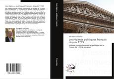 Borítókép a  Les régimes politiques français depuis 1789 - hoz