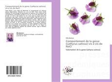 Copertina di Comportement de la gesse (Lathyrus sativus) vis à vis de NaCl