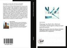 Bookcover of Dopage au bore du silicium amorphe hydrogène déposé par pulvérisation
