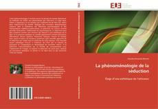 Capa do livro de La phénoménologie de la séduction