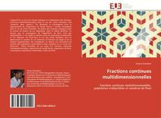 Bookcover of Fractions continues multidimensionnelles