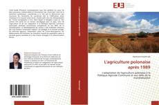 Portada del libro de L'agriculture polonaise après 1989