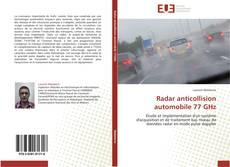 Buchcover von Radar anticollision automobile 77 GHz