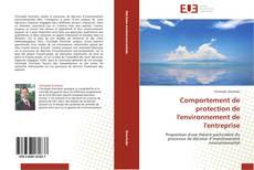 Borítókép a  Comportement de protection de l'environnement de l'entreprise - hoz