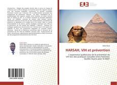 Capa do livro de HARSAH, VIH et prévention