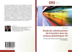 Capa do livro de Étude du ralentissement de la lumière dans les cristaux photoniques 1D