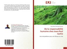 Borítókép a  De la responsabilité humaine chez Jean-Paul Sartre - hoz