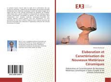 Обложка Elaboration et Caractérisation de Nouveaux Matériaux Céramiques