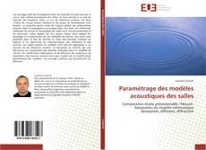 Copertina di Paramétrage des modèles acoustiques des salles