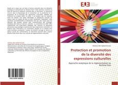 Protection et promotion de la diversité des expressions culturelles的封面