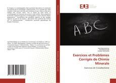 Capa do livro de Exercices et Problèmes Corrigés de Chimie Minerale
