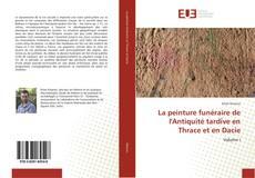 Portada del libro de La peinture funéraire de l'Antiquité tardive en Thrace et en Dacie