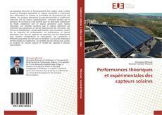 Bookcover of Performances théoriques et expérimentales des capteurs solaires