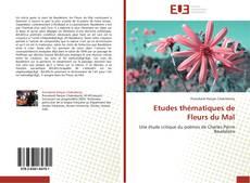 Capa do livro de Etudes thématiques de Fleurs du Mal