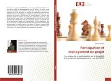 Portada del libro de Participation et management de projet