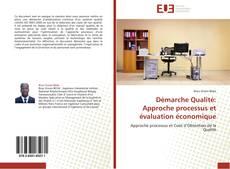 Couverture de Démarche Qualité: Approche processus et évaluation économique