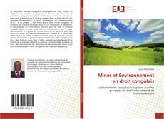 Portada del libro de Mines et Environnement en droit congolais